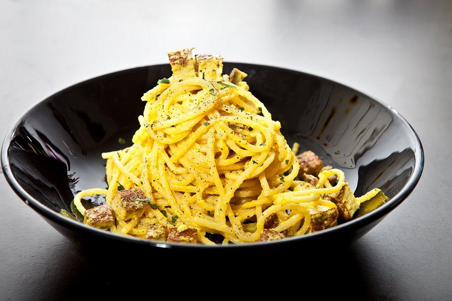Spaghetti alla carbonara, vegan?